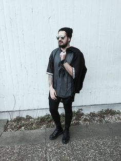 more on badgalrozay.blogspot.de   #fashionblog #allblack #docmartens