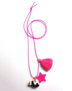 Little Lux Pearl The Panda Necklace | Covet + Lou