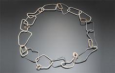 Necklace |  Keri Ataumbi.  Chaos Chain