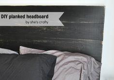 She's crafty: DIY planked headboard (HoH134)
