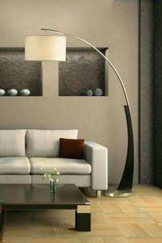 Plimpton Arc Floor Lamp By NOVA Lighting