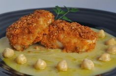 BACALAO ENVUELTO EN ROMESCO CRUJIENTE ~ The Spanish Food