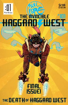 The Death of Haggard West by Paul Pope