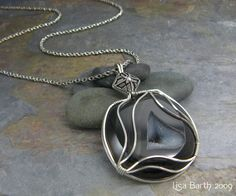 Wire Wrapping Organically, to fit your Stone | JewelryLessons.com