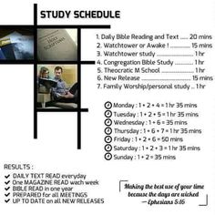 Smart study schedule, are you up to the challenge?