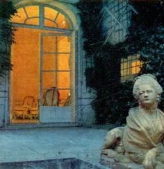 at Pauline de Rothschild's,Paris
