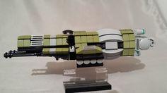 https://flic.kr/p/hYSFLU | Tlaybonic Cruiser Eleana | Eleana with twin Heavy Laser Cannons.