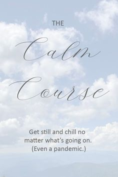Do you ever feel totally stressed out? Uncertain how to calm down? Wish you could just react in a normal, chill way? Then check out The Calm Course.   #calmdown Self Love Affirmations, Morning Affirmations, Inner Peace Quotes, Building Self Esteem, Stress Quotes, Trust Your Gut, Finding Inner Peace, Overcoming Anxiety, Negative Self Talk