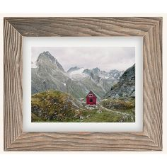 Kevin Russ Mint Hut Art Print (79 CAD) ❤ liked on Polyvore featuring home, home decor, wall art, wildlife home decor, car wall art, mountain home decor, photo picture and mountain wall art