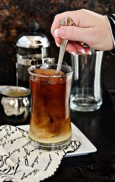 The Perfect Glass of Iced Coffee