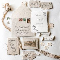 Flat Lay Invitation Paper Goods Styling Kit for Wedding Planners, Photographers, and Creatives Flat lay styling kit for photographers, planners, and creatives Vintage Wedding Invitations, Wedding Stationary, Wedding Invitation Cards, Wedding Cards, Vintage Weddings, Handmade Wedding, Diy Wedding, Rustic Wedding, Wedding Suite