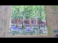 Speed Painting How to Paint Bluebell Woods In Watercolour Great Tips