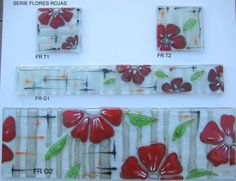 Fused Glass, Stained Glass, Tree Leaves, Glass Flowers, Glass Design, Wind Chimes, Cool Stuff, Frame, Crafts