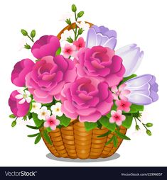 Find Basket Filled Cut Spring Summer Flowers stock images in HD and millions of other royalty-free stock photos, illustrations and vectors in the Shutterstock collection. Thousands of new, high-quality pictures added every day. Cartoon Rooster, Morning Rose, Coloring Easter Eggs, Flower Basket, Autumn Trees, Summer Flowers, Cute Illustration, Flower Petals, Beautiful Roses