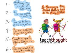 6 Messages Every Student Should Hear On The First Day Of School -
