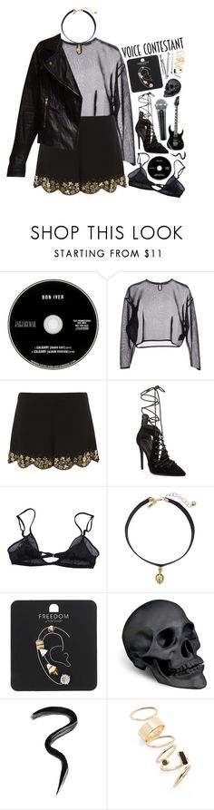 """Untitled #654"" by wendyvc ❤ liked on Polyvore featuring Yves Saint Laurent, Dorothy Perkins, Kendall + Kylie, Bllack by Noir, Vanessa Mooney, Topshop, L'Objet, Laura Mercier, BP. and Zara"