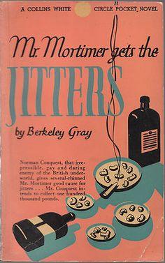 1944 Vintage Paperback Mr. Mortimer gets the Jitters by Berkeley Gray ,Scarce
