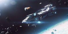 RSI Polaris - Corvette-class capital ship - in Space