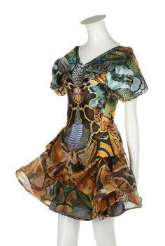 An Alexander McQueen  Plato s Atlantis  collection snakeskin printed  organza dress, Spring-Summer 2010 12f0489eeec