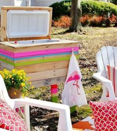 diy-pallet-cooler-stand-project-ideas