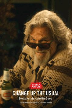 Every time The Dude changes up his usual drink for Stella Artois, he's helping to give access to clean water to someone in need. Whether he's at the bar or with friends at the bowling alley, it's never been easier to change up the usual and do good. Helping people by enjoying Stella Artois? The Dude abides. #PourItForward