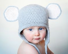 Mouse Earflap Hat - $5.00 by Adrienne Engar