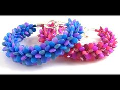 Kumihimo Pip Bead Bracelet Tutorial - YouTube