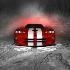 Love this photo of the ultimate Dodge Viper.  Yeah. My boss had this same car.  What a freaking amazing machine. E*