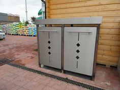 #Müllschränke aus #Edelstahl von #Pecile #Edelstahlmanufaktur Lockers, Locker Storage, Cabinet, Furniture, Home Decor, Stainless Steel, Closet, Clothes Stand, Decoration Home
