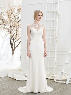 Wedding gown by Beloved by Casablanca