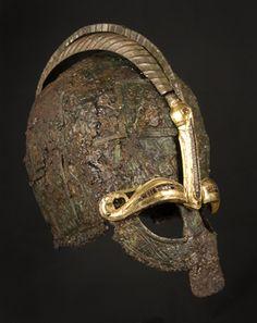 Viking helmet from Valsgärde, Sweden