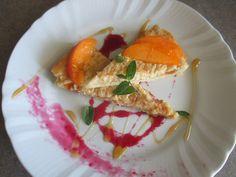 FORNELLI IN FIAMME: CREAM AND CREAM TART WITH HOMEMADE.APRICOT PUREE (RECETTE AUSSI EN FRANCAIS) - Crostata alla panna e crema con purea di albicocche fatta in casa