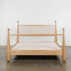 Walker Bed– Shoppe Amber Interiors Bed Furniture, Custom Furniture, Furniture Ideas, Amber Interiors, Beds For Sale, Light Oak, Upholstery, Design, Home Decor