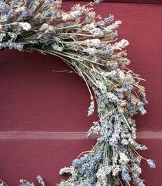 145 Dried Lavender Wreath