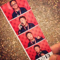 """Photobooth shenanigans. #sxsw #sxswi #kloutsxsw"" -@realantiks"