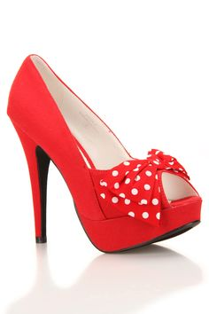 Pinup Bow Heels / machi