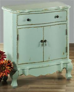 another sweet painted cabinet