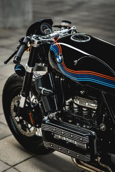 "BMW ""Apollo"" by Ruby Cafe - Since that time I personally wrote in re. - The History of Café Racers - Cafe Racer TV Bmw Cafe Racer, Custom Cafe Racer, Cafe Racer Motorcycle, Motor Cafe Racer, Bmw Scrambler, Custom Bmw, Custom Bikes, K100 Bmw, Bmw K 100"