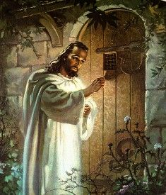 Jesus Knocking - Christian Art. Had this picture in our home growing up.