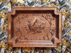 Fishing Wood Carving Wood Wall Art Gift for by TheWoodGrainGallery