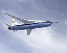 NASA F-8A Crusader Supercritical Wing Aircraft | by NASA on The Commons