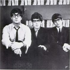 John, George & Ringo in Glasses