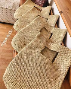 Crochet Handbags, Crochet Purses, Crochet Hats, Handmade Handbags, Handmade Bags, Crochet Purse Patterns, Crochet Market Bag, Knit Basket, Crochet Squares