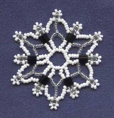 Tila Snowflake Pattern  (Free Pattern)
