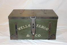 Wells Fargo Strong Box Replica