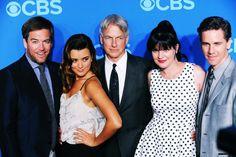 #NCIS Cast at 2013 CBS Upfronts ...