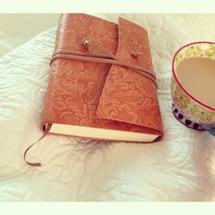 {my new leather journal and a strong cup of coffee} I used to write a lot and so Michael and I went out and bought a new one for me so I could start writing again<3