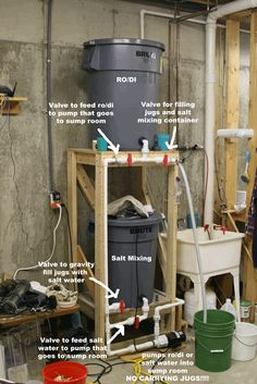 Salt Water Mixing Stations Let's See Them - Reef Central Online Community