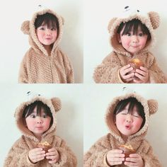 Cute Little Baby Girl, Cute Baby Girl Pictures, Little Babies, Baby Kids, Baby Boy, Cute Asian Babies, Korean Babies, Asian Kids, Cute Babies
