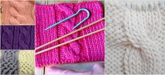 How To Knit Front Cross Cable Stitch